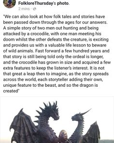 Dragon: Myth or Half Truth? Read the article on @folklorethursday website! #dragons #anthropology #storytime #fairytale #storytellers #anthropologist #arthistory #dragonfly #dragonbreath #motherofdragons #dragon #reddragon #folklore #folklorethursday #myths #legends #history #princesses #postitfortheaesthetic #doubletap #magicmoments #quest_4_magic #inbeautyandchaos #tbt #story #crocodile #dinosaurs #tezcatlipoca