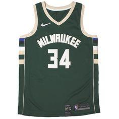 2e6661e5bb7 Nike Icon Swingman NBA Jersey - Milwaukee Bucks - Giannis Antetokounmpo -  XL Only