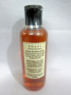 Khadi Ayurveda Hair Cleaner, Herbal Honey & Almond Oil Shampoo (210 Ml) by mogul interior, http://www.amazon.com/dp/B00A4B68IS/ref=cm_sw_r_pi_dp_SwqUrb1TNG4B7