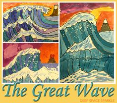 The Great Wave Art Lesson Plan