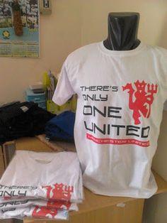 PENYU: Kaos Casual Nobar MU (Manchester United) White