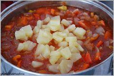 Katerina&Kuchnia: SOS SŁODKO-KWAŚNY DO SŁOIKÓW Chili, Curry, Pineapple, Curries, Chilis, Chile