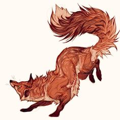 Posting this again because I guess a lot of people didn't see it and I really like this fox - giulialibard Animal Sketches, Animal Drawings, Cute Drawings, Fuchs Tattoo, Fox Drawing, Paper Drawing, Fox Art, Cute Fox, Pretty Art