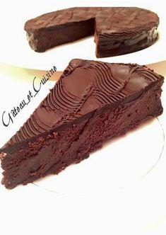 Fondant truffé au chocolat et mascarpone de Cyril Lignac