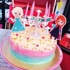 frozen theme party #cake