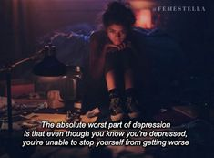 I Quit My Depression Medication Cold Turkey and Found Out Firsthand Why That's A Terrible Idea Tv Show Quotes, Real Talk Quotes, Film Quotes, How I Feel, How Are You Feeling, Dark Quotes, In My Feelings, Depression Quotes, I Quit