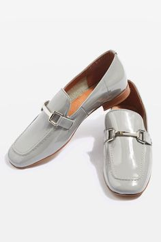 Borrow from the boys with these luxe leather loafers. An on-trend androgynous style, these easy slip-ons are totally wearable with a metallic hardware detail and perfect styled back with tailored trousers.