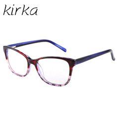 bb6367008cf7 Kirka Women Eye Glasses Frames Purple Color Female Eyewear Frames in