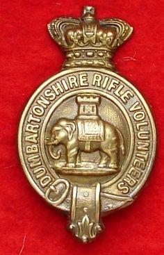 Dumbartonshire Rifle Volunteers shako