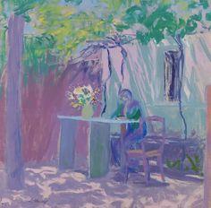 Ellen Thesleff: Lehtimaja (1908). (KUVA: HANNA KUKORELLI / HAM) Artemisia Gentileschi, North Europe, Tove Jansson, Mary Cassatt, Pablo Picasso, All Art, Finland, Knight, Fine Art