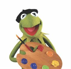 Make art filled with heart and people are sure to take notice! Jim Henson, Sapo Kermit, Sapo Meme, Frog Wallpaper, Frog Drawing, The Muppet Show, Rainbow Connection, Kermit The Frog, Bizarre