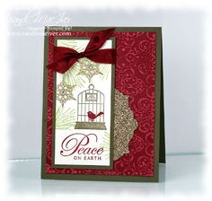 Aviary Christmas Card by SandiMac - Cards and Paper Crafts at Splitcoaststampers