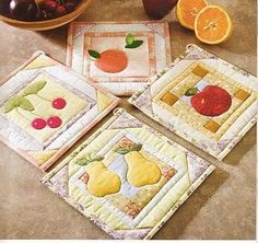 Cute Potholders for my quilting friends!