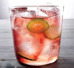 Cocktail Hour: Cucumber Coconut Splash - Combine the fun of mixed drinks with the food-friendliness of vino.