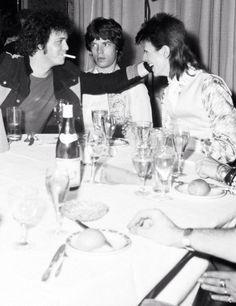 Lou, Mick and David