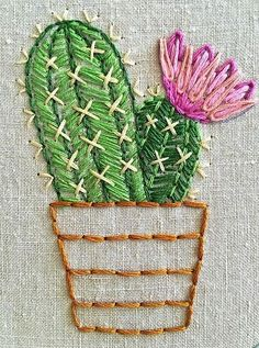 Embroidery Vs Tattoo Eyebrow opposite Embroidery Stitches Manila because Embroidery Stitches Tutorial at Embroidery Designs Machine Free another Embroidery Cosmetic Tattoo Cactus Embroidery, Embroidery Patterns Free, Hand Embroidery Stitches, Learn Embroidery, Hand Embroidery Designs, Embroidery Art, Sewing Patterns Free, Machine Embroidery, Free Pattern