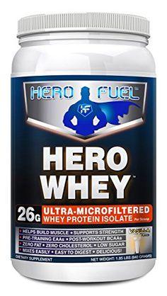 #Hero #FuelHero #WheyUltra #Microfiltered #Vanilla #WheyProtein #Isolate
