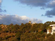 Windmill in Glinado, Naxos Island, Greece photo by Ηλιασ Windmill, Greece, Clouds, Island, Outdoor, Beautiful, Greece Country, Outdoors, Islands
