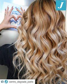 #Repost @centro_degrade_joelle with @repostapp ・・・ In ❤️ for Degradé Joelle! #cdj #degradejoelle #tagliopuntearia #degradé #igers #musthave #hair #hairstyle #haircolour #haircut #longhair #ootd...