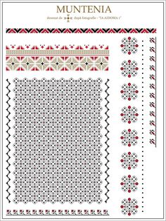 Grand Sewing Embroidery Designs At Home Ideas. Beauteous Finished Sewing Embroidery Designs At Home Ideas. Folk Embroidery, Learn Embroidery, Embroidery Patterns, Modern Embroidery, Knit Patterns, Beading Patterns, Cross Stitch Patterns, Embroidery Techniques, Romania