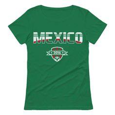625e014da Mexico Soccer Team 2016 Football Fans Women T-Shirt