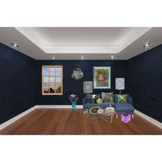 A small room by ziernor on Polyvore featuring interior, interiors, interior design, home, home decor, interior decorating, Hyde and Arteriors