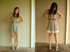 diy extender slip tutorial. Makes those short summer dresses a little easier to wear. Super easy tute!