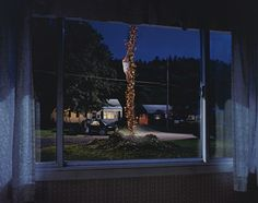 Gregory Crewdson's elaborately staged photographs are the equivalent of big-budget Hollywood films, with a consistent narrative thread on small-town suburban life. He has even had the opportunity to 'direct' thespians like Tilda Swinton, Julianne Moore and William H. Macy.
