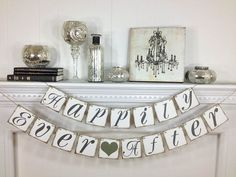 Hey, I found this really awesome Etsy listing at http://www.etsy.com/listing/130649071/happily-ever-after-banner-wedding-banner
