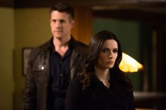 Nico Evers-Swindell as Prince Kenneth and Bitsie Tulloch as Juliette Silverton - Grimm