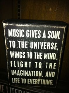 Amazing music quote