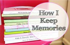 how I keep memories | Shutterfly