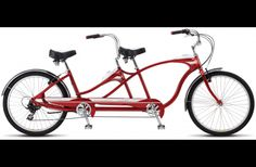 Tango Tandem | Cruisers | Schwinn Bicycles...add a cart at the back and we are Set...Well Sort of*