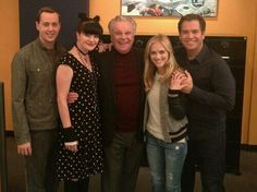 Sean Murray, Pauley Perrette, Robert Wagner, Emily Wickersham, & Michael Weatherly