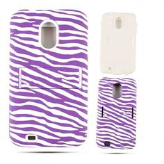 Unlimited Cellular Hybrid Fit On Jelly Case for Samsung Galaxy Epic (Purple Zebra on White) Galaxy S2, Samsung Galaxy, Jelly Case, Purple Zebra, Phone Cases, Fit, Shape, Phone Case