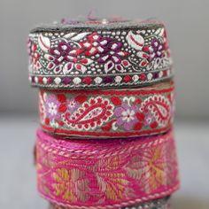 Vintage Embroidered Ribbon