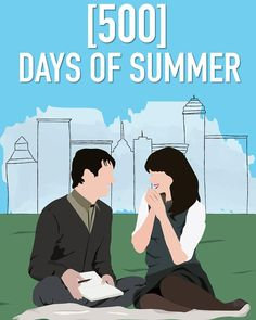 this is not a love story // 500 days of summer  #illustration #graphicdesign…