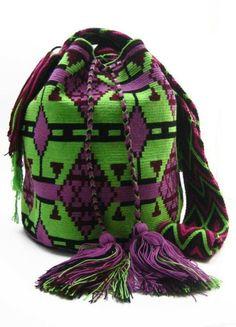 Wayuu Mochila pattern color