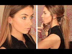 Back to School Makeup & Hair Tutorial (DRUGSTORE) Chit Chat & GIVEAWAY | Danielle Mansutti ♡ - YouTube