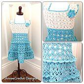 Ravelry: Summer Vintage Toddler Dress pattern by Annoo Crochet