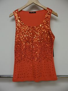 Sequined top @Ginger Strahorn!