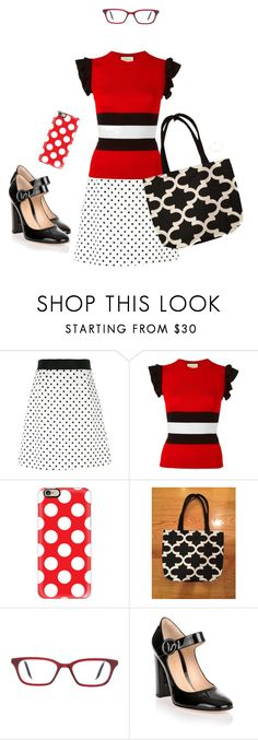 """""""Untitled #70"""" by pamdj ❤ liked on Polyvore featuring Dolce&Gabbana, Gucci, Casetify, Victoria Beckham and Gianvito Rossi"""