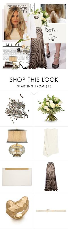 """He Wishes For The Cloths Of Heaven"" by blackfresa ❤ liked on Polyvore featuring Topshop, The Real Flower Company, Universal Lighting and Decor, Chanel, Vionnet, Roberto Cavalli, Yves Saint Laurent, Giambattista Valli, Maison Margiela and Forever New"