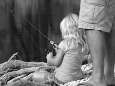 Take your daughter fishing. Please! I grew up in a bass boat, fishing with my Dad. Most Favorite memories of my life!  ❤ #Fishing