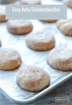 These low carb snickerdoodles are easy and delicious!!!!