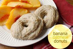 Banana Oatmeal Donuts: Gluten-Free, Dairy-Free, Egg-Free, Sugar-Free and Delicious! | Grain Mill Wagon
