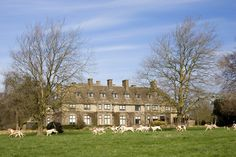 Swinbrook House Estate in Oxfordshire. Could Prince Harry and Meghan Markle be looking for something similar?