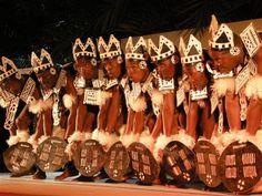 Danza de la tribu Zulu, llamada: Zulu dance war.