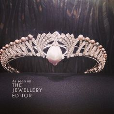Natural pearl belonging to Queen Mary @cartier