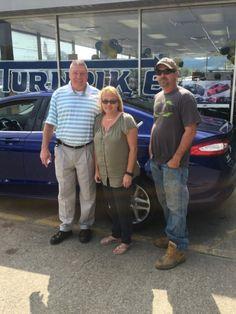 Susan & Brian Rakes with their Sales Associate, Mike Cobb. Thanks again, Brian & Susan 😃👍